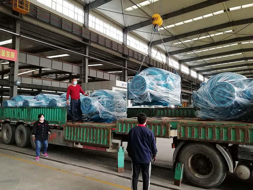 Мотор с контактным кольцом JR экспортируется в Иран