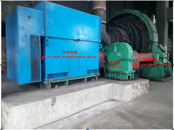 40p 1600KW High Voltage Permanent Magnet Synchronous Motor