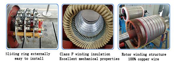 Asynchronous Slip Ring Motor