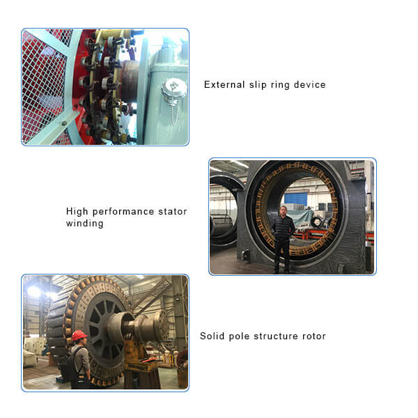 Synchronous 4 and 6 Poles Motors