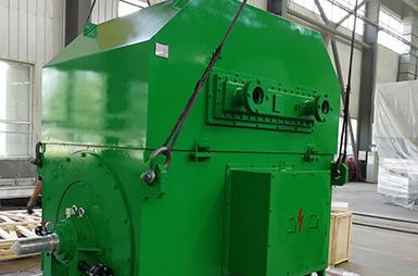 Высоковольтный асинхронный двигатель с короткозамкнутым ротором серии YKS с водяным охлаждением, экспортируемый в Индию