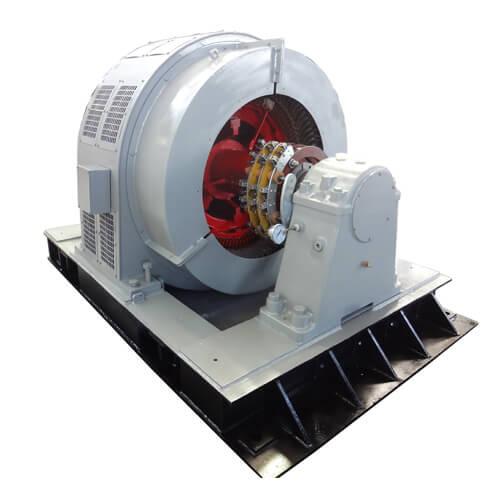 Heavy Duty High Voltage Slip Ring Motor