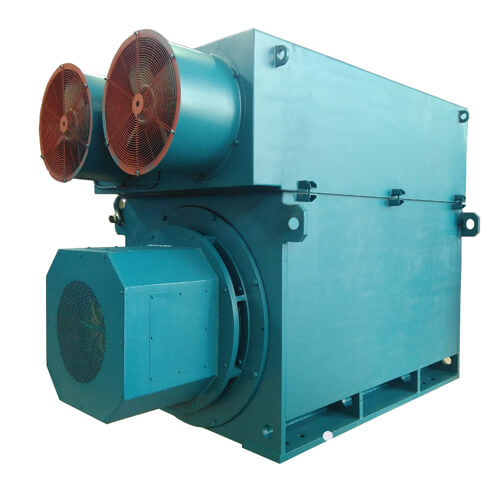 High-voltage Wound Rotor Slip Ring Motor