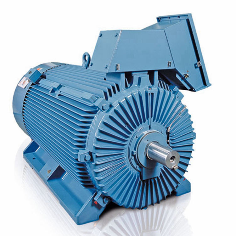 High Voltage Rib Cooled Motors